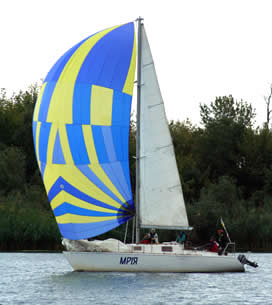 yacht mriya spinnaker from UA SAIL